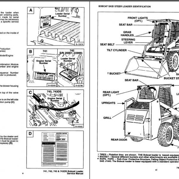 bobcat parts 7753 wiring diagram v2203 wiring diagram