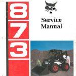 Bobcat 873-manual