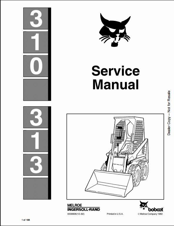 Manual For Bobcat t300