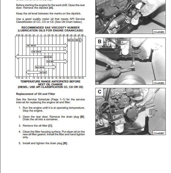 Bobcat 753 Engine Removal