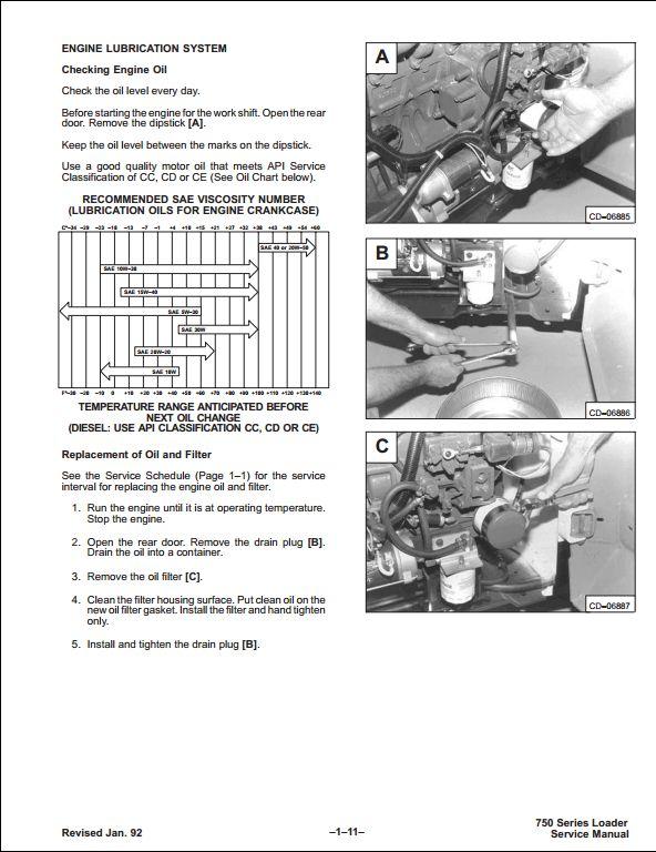 bobcat 753 skid steer loader service manual pdf download rh sellmanuals com Bobcat 753 Parts Breakdown Bobcat Model 753 Service Manual