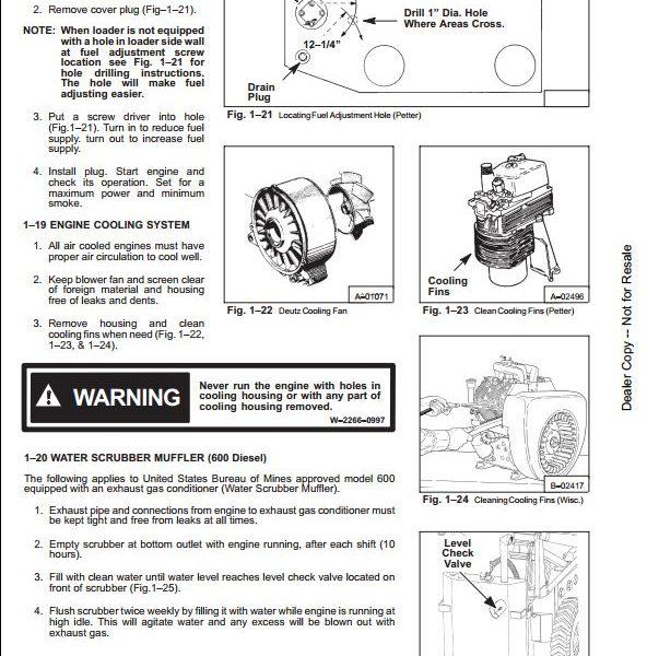 Bobcat 600 600D 610 611 Skid Steer Loader Service Manual PDF