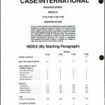 Case IH 7110 7120 7130 7140 manual