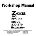Hitachi Zaxis 200 manual