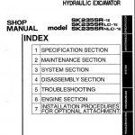 Kobelco SK235SR manual