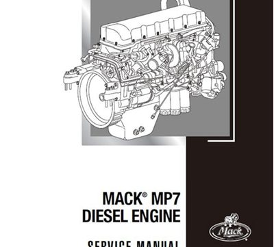 mack mp7 diesel engine service manual  truck,heavy equipment service manuals