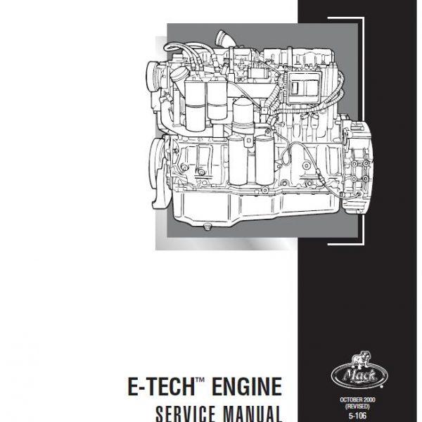 mack e7 e tech diesel engine service manual 350 Air Cleaner Diagram