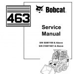 Bobcat 463 Skid Steer Loader Service