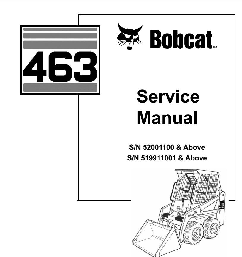 bobcat 463 service manual free download