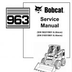 Bobcat 963 Skid Steer Loader