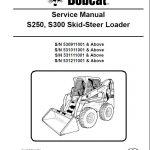 Bobcat S250, S300 Skid Steer Loader