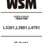 Kubota L3301, L3901, L4701 Tractor manual