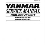 Yanmar Sail Drive Unit Sd40