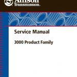 allison 3000 4000 rebuild manual
