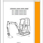 jcb 8018 service manual