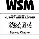Kubota R420S, R520S, R420alpha