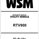 Kubota UTV RTV 900 Service Manual