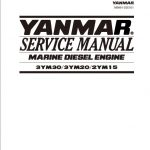 Yanmar 3YM30 3YM20 2YM15 Marine Diesel Engine Service Repair Manual