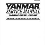Yanmar Marine Diesel Engine 6LY3-ETP, 6LY3-STP, 6LY3-UTP Service Repair Manual
