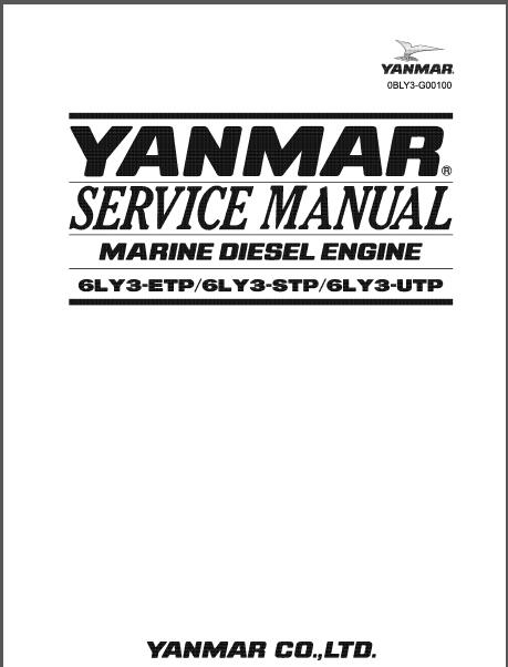 yanmar marine diesel engine 6ly3 etp 6ly3 stp 6ly3 utp service rh sellmanuals com Yanmar Diesel Tractor 4WD Yanmar F-16 Model Engine