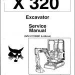 Bobcat X 320 Excavator Service