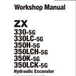 HITACHI ZX330-5G Hydraulic Excavator Workshop Manual