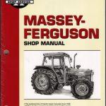 Massey Ferguson MF 362 365 375 383 390 390 T 398 Tractor Shop Manual