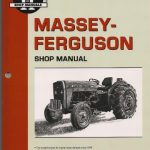 Massey Ferguson MF230, MF235, MF240, MF245, MF250 Tractor Shop Manual
