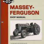 Massey Ferguson MF230, MF235, MF240, MF245, MF250 Tractor Shop Manual