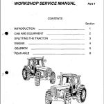 Massey Ferguson Mf-3000 3100 Series Tractor Workshop Service Manual