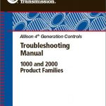 Allison 1000 and 2000 Series Transmission Troubleshooting Manual