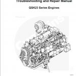 Cummins QSK23 Series Engines Manual