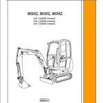 JCB 8025z -8035z Manual