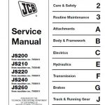 Jcb Js200 Manual