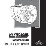Mack Maxitorque T313 T318 Transmission Service Manual
