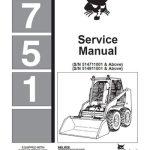 Bobcat 751 Service Manual