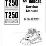 Bobcat T250 Turbo Manual