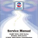 Allison 5000, 6000 Series Manual