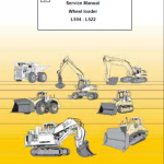 Liebherr L504 - L522 Service Manual