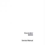 Case WX90 Excavator Service Manual