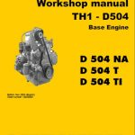Liebherr TH1-D504 Base Engine Workshop Manual