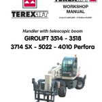 TEREX GIROLIFT 3514 3518 5022 Workshop Manual