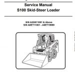 Bobcat S100 Skid Steer Loader Service Manual