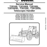 Bobcat T35100-T35120SL Service Manual