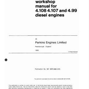 perkins diesel engine overhaul manual 4000 series