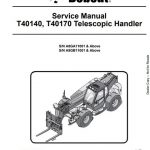 Bobcat T40140 Repair Manual