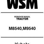 Kubota M8540, M9540 Service Manual