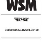 Kubota B2050, B2350, B2650, B3150 Tractor Workshop Manual