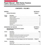 Case IH MXU Series 100 110 125 135 115 Service Manual