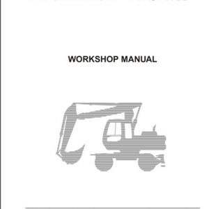 Fiat Hitachi Excavators EX135W Workshop Manual